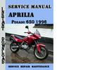 Thumbnail Aprilia Pegaso 650 1996 Service Repair Manual