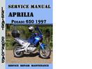 Thumbnail Aprilia Pegaso 650 1997 Service Repair Manual