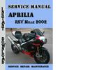 Thumbnail Aprilia RSV Mille 2002 Service Repair Manual