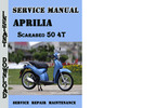 Thumbnail Aprilia Scarabeo 50 4T Service Repair Manual