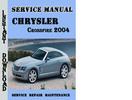 Thumbnail Chrysler Crossfire 2004 Service Repair Manual Pdf Download