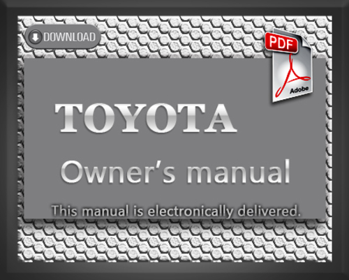 toyota camry 1999 owners manual download manuals technical. Black Bedroom Furniture Sets. Home Design Ideas