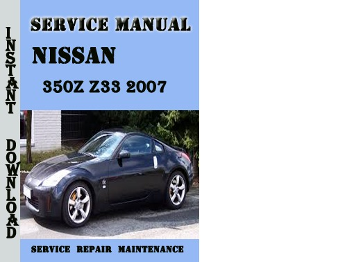 repair manual 2004 nissan 350z free free 2006 nissan. Black Bedroom Furniture Sets. Home Design Ideas