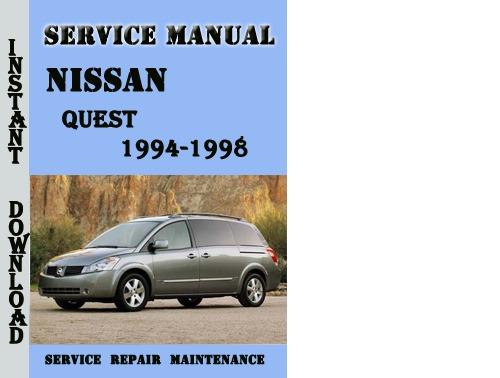 nissan quest factory service manuals nico club autos post 96 Nissan Pickup Service Manual Nissan Repair Manual
