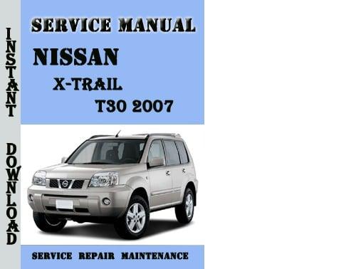 nissan x trail t31 manual pdf
