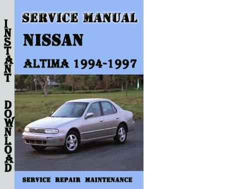 service manual 1997 nissan altima workshop manuals free. Black Bedroom Furniture Sets. Home Design Ideas