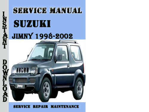 suzuki jimny s413 1998 2002 service repair manual pdf download m rh tradebit com jimny owners handbook suzuki jimny 2003 owners manual