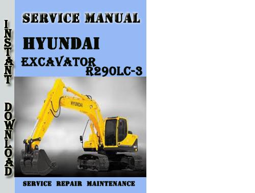 hyundai crawler excavator r290lc