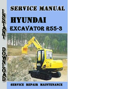 hyundai crawler excavator r55