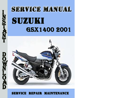 Suzuki Gsx1400 2001 Service Repair Manual Pdf Download