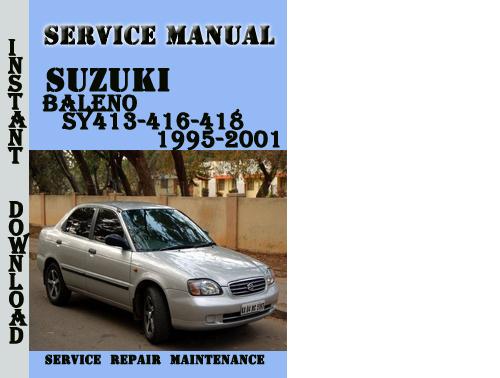Suzuki Baleno Fuse Box Manual : Service manual suzuki esteem owners fuses