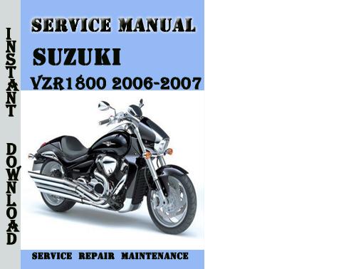 suzuki intruder vzr1800 2006 2007 service repair manual pdf down rh tradebit com suzuki intruder m1800r service manual manual taller suzuki intruder 1800