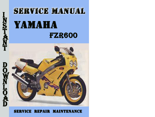yamaha fzr600 service repair manual pdf download. Black Bedroom Furniture Sets. Home Design Ideas