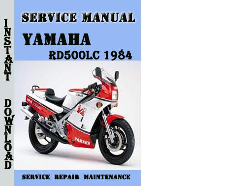 yamaha rd500lc 1984 service repair manual pdf download. Black Bedroom Furniture Sets. Home Design Ideas