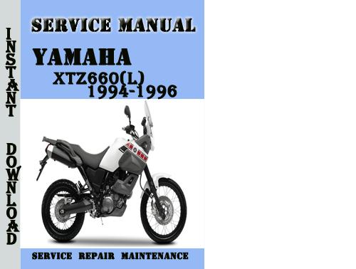 Yamaha Xtz660 L  1994