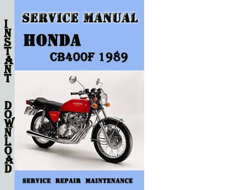 cb400 vtec servicing manual cb 400 super four vtec spec ii repair introductory cb400sf spec3 Honda CB1000R honda cb400sf service manual