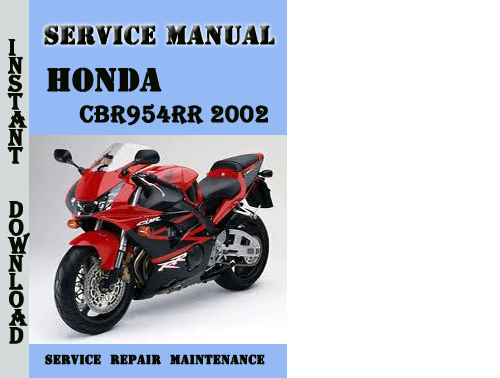 honda cbr954rr 2002 service repair manual pdf download. Black Bedroom Furniture Sets. Home Design Ideas