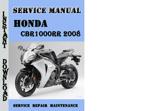 honda cbr1000rr 2008 service repair manual pdf download. Black Bedroom Furniture Sets. Home Design Ideas