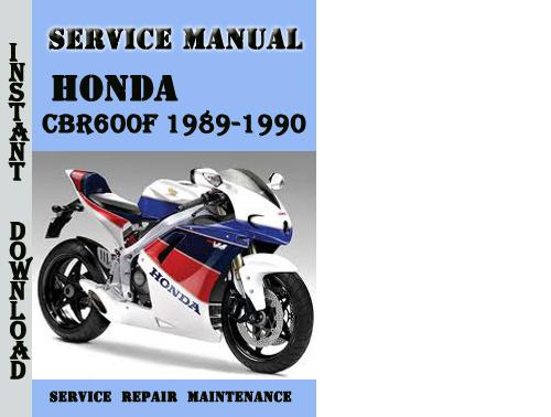 honda cbr600f 1989 1990 service repair manual pdf download. Black Bedroom Furniture Sets. Home Design Ideas
