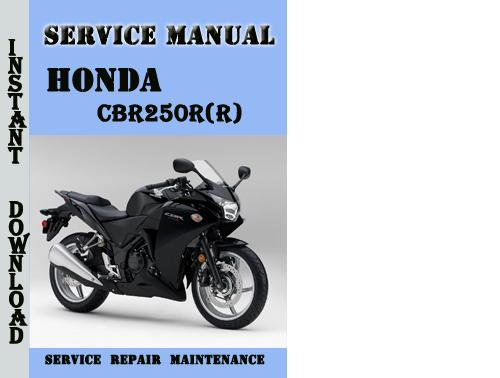 honda cbr250r r service repair manual pdf download