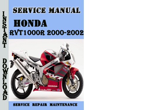 honda rvt1000r 2000 2002 service repair manual pdf. Black Bedroom Furniture Sets. Home Design Ideas