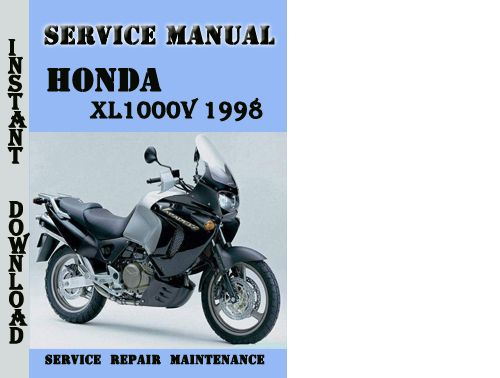 Honda Xl1000v Varadero 1998 Service Repair Manual Pdf