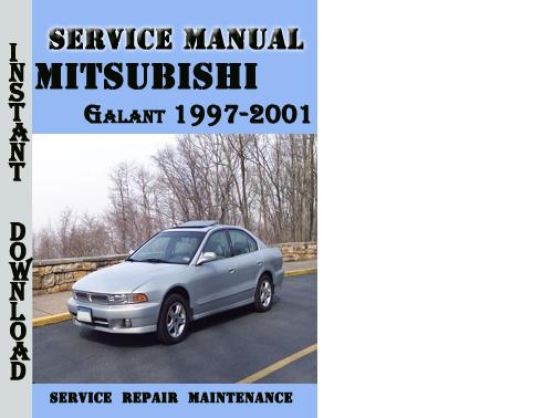 mitsubishi galant 1997-2001 service repair manual pdf - download m