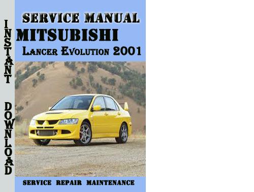 service manual  free 2001 mitsubishi lancer service manual