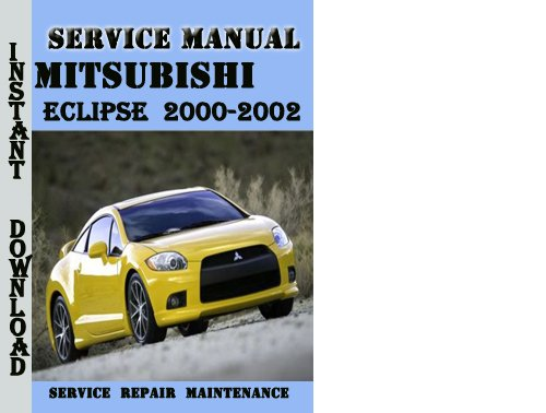 mitsubishi eclipse 2000 2002 service repair manual pdf. Black Bedroom Furniture Sets. Home Design Ideas