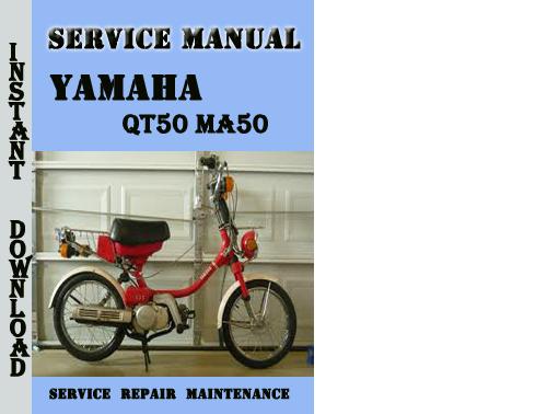 yamaha qt50 ma50 service repair manual pdf download