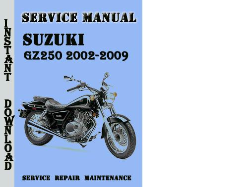 Suzuki Gz250 2002