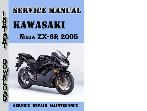 Kawasaki Ninja Zx 6r 2005 Service Repair Manual Pdf Download Down