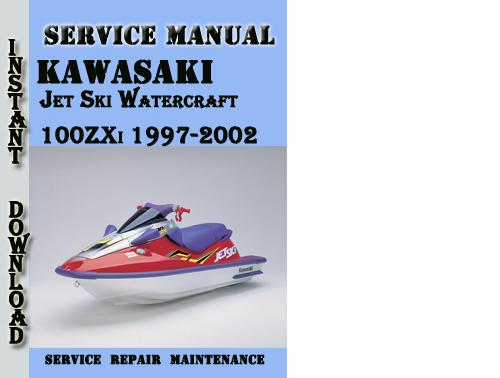 Pay For Kawasaki Jet Ski Watercraft 100zxi 1997