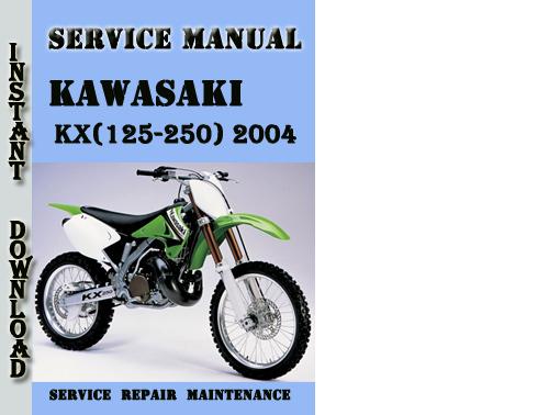 Pay for Kawasaki KX(125-250) 2004 Service Repair Manual