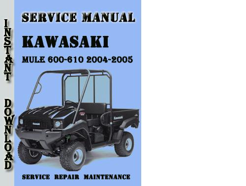 Kawasaki Mule 600