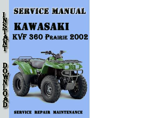 Kawasaki Kvf 360 Prairie 2002 Service Repair Manual