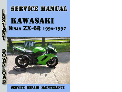 Pay for Kawasaki Ninja ZX-6R 1994-1997 Service Repair Manual