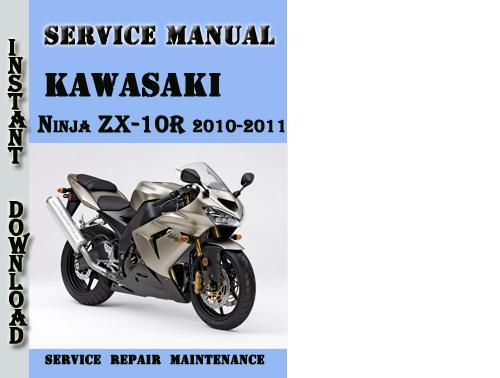 Pay for Kawasaki Ninja ZX-10R 2010-2011 Service Repair Manual
