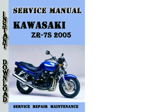 Kawasaki Zr-7s 2005 Service Repair Manual
