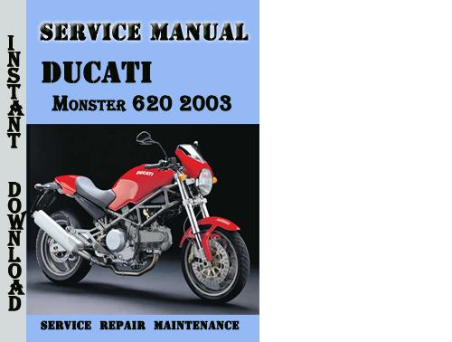 ducati monster 620 2003 service repair manual download manuals a rh tradebit com 2003 ducati monster 620 service manual pdf ducati monster 620 ie service manual
