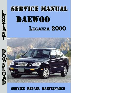 daewoo nubira service manual saloon