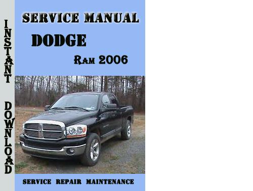 dodge ram 2006 service repair manual download manuals techn rh tradebit com dodge ram 1500 owners manual 2006 2006 dodge ram 1500 service manual pdf