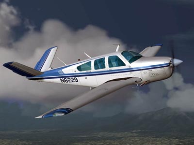 Raytheon Beechcraft Bonanza 36 35 parts & service manual