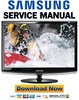 Thumbnail Samsung SyncMaster 2233BW Service Manual & Repair Guide