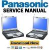 Thumbnail Panasonic Toughbook CF-30 Service Manual & Repair Guide