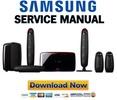 Thumbnail Samsung HT-X715 X715T Service Manual & Repair Guide