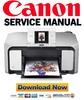 Thumbnail Canon Pixma MP970 Service and Repair Manual + Parts Catalog
