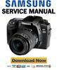 Thumbnail Samsung GX-20 GX20 Service and Repair Manual