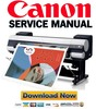 Thumbnail Canon iPF9000 Service Manual & Repair Guide + Parts List