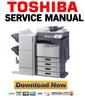 Thumbnail Toshiba e-STUDIO 3520C 3530C 4520C Service Manual